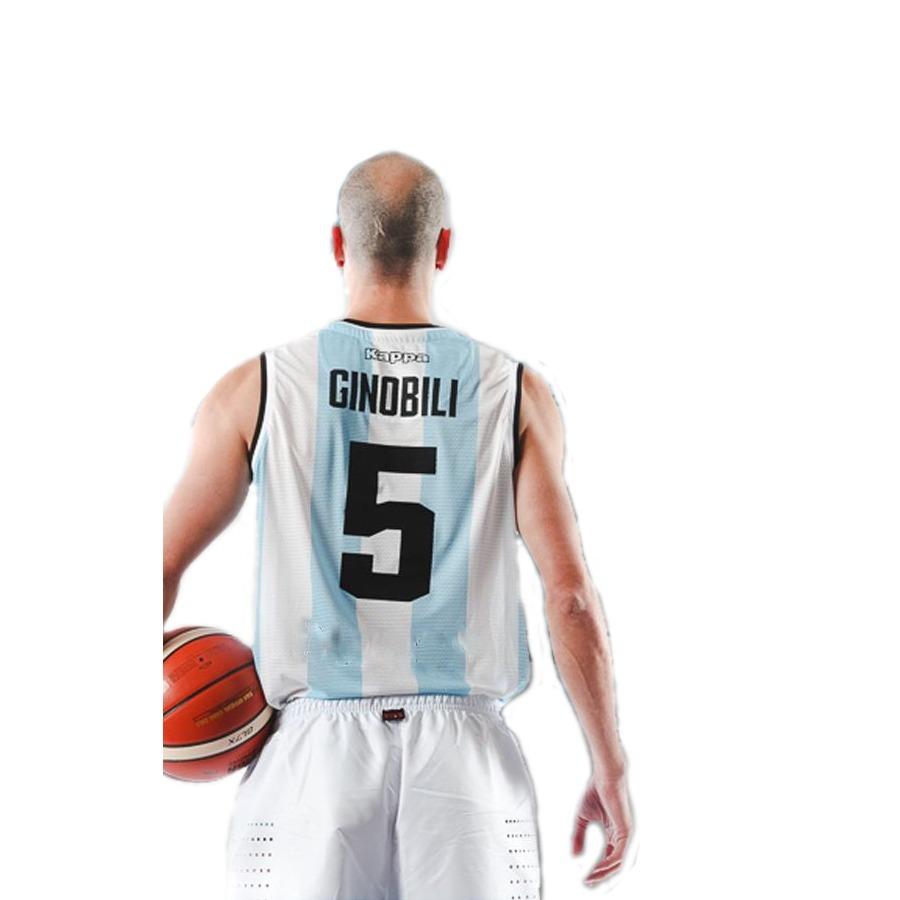 camiseta argentina basquet kappa dxt envíos a todo el país. Cargando zoom. 413093aac4a40