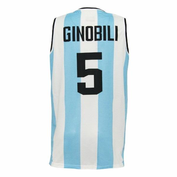 Camiseta Argentina Basquet Kappa Rio 2016+ Estampados -   1.299 ebeb50f2d5e9e