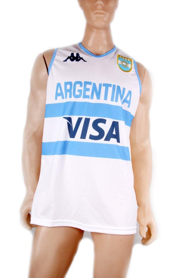 camiseta argentina basquet oficial kappa titular y suplente. Cargando zoom. 63067848bb9bd
