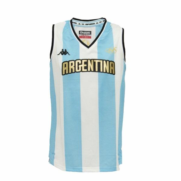 89c1f996ed20a Camiseta argentina basquet titular kappa rio jpg 600x600 Camiseta de  basquet argentina