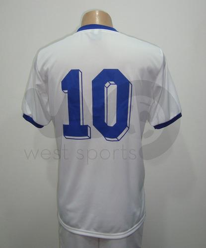 camiseta argentina blanca retro 1981/1986 maradona nº 10