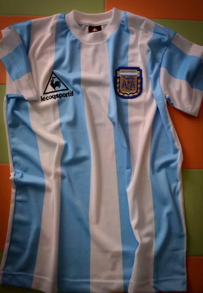 Camiseta Argentina Campeón México 1986 Retro Maradona 10 -   664 abd76c0d9150e