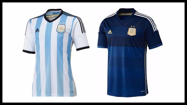 e272918646 Camiseta Argentina Climacool Titular O Suplente Mundial 2014 -   749 ...