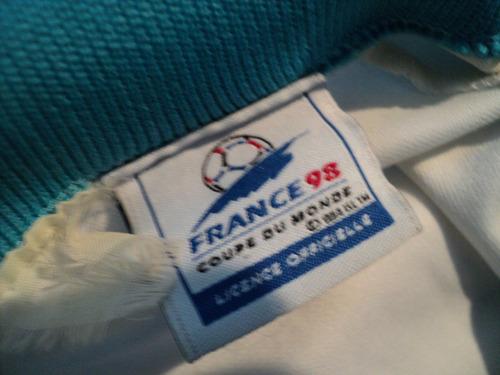 camiseta argentina france 98 mundial de futbol francia 1998
