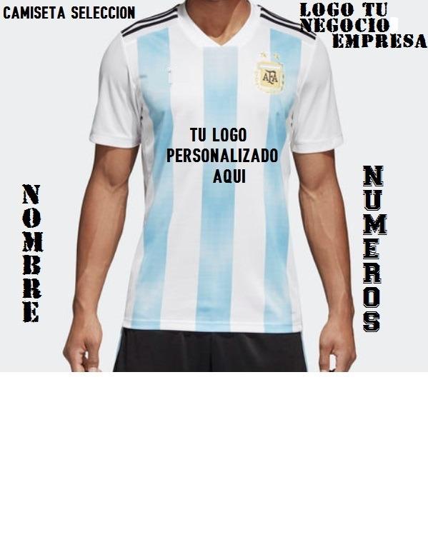 622a47fdfb168 Camiseta Argentina Hombre Mujer Niños Con Tu Logo -   599