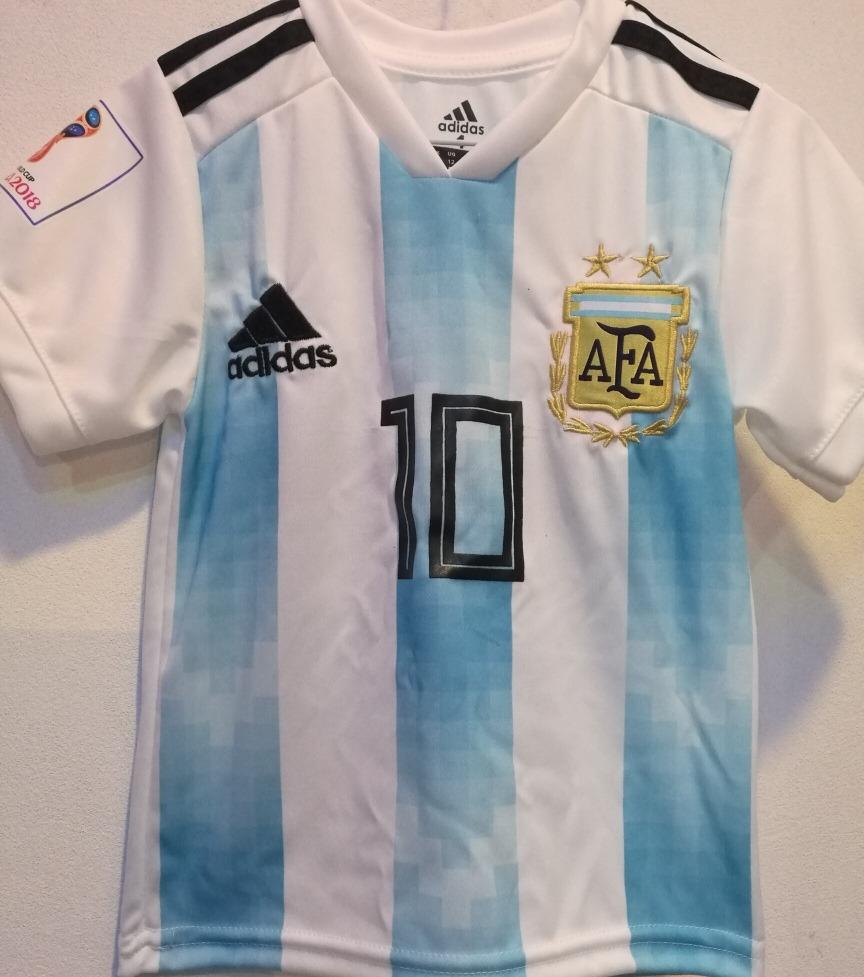 camiseta argentina infantil rusia 2018. Cargando zoom. 81cfa0a08cc