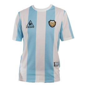 Camiseta Argentina Le Coq Sportif Mundial 86 Maradona