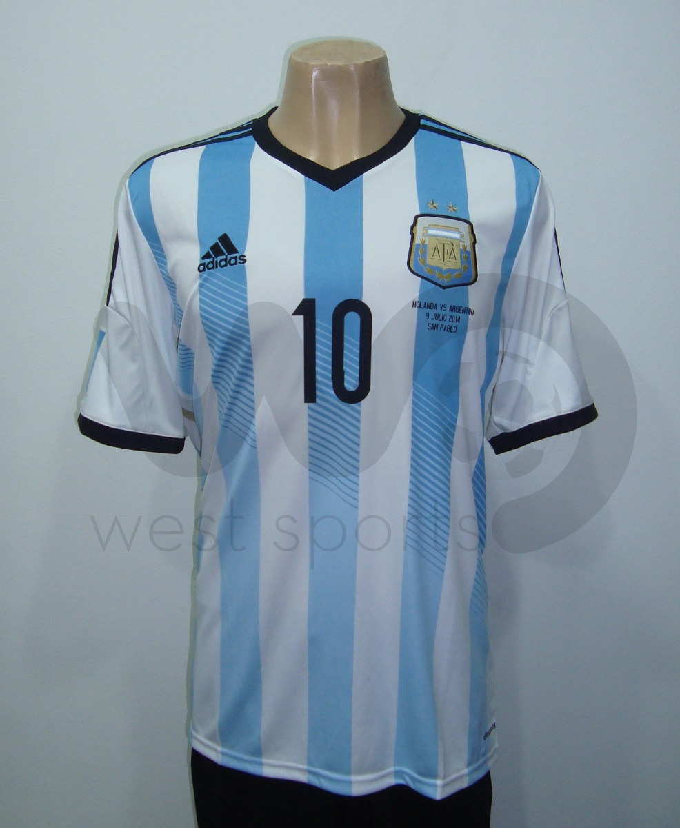 camiseta argentina mundial 2014 messi 10 + parches matchday. Cargando zoom. d56a8c5f1a859