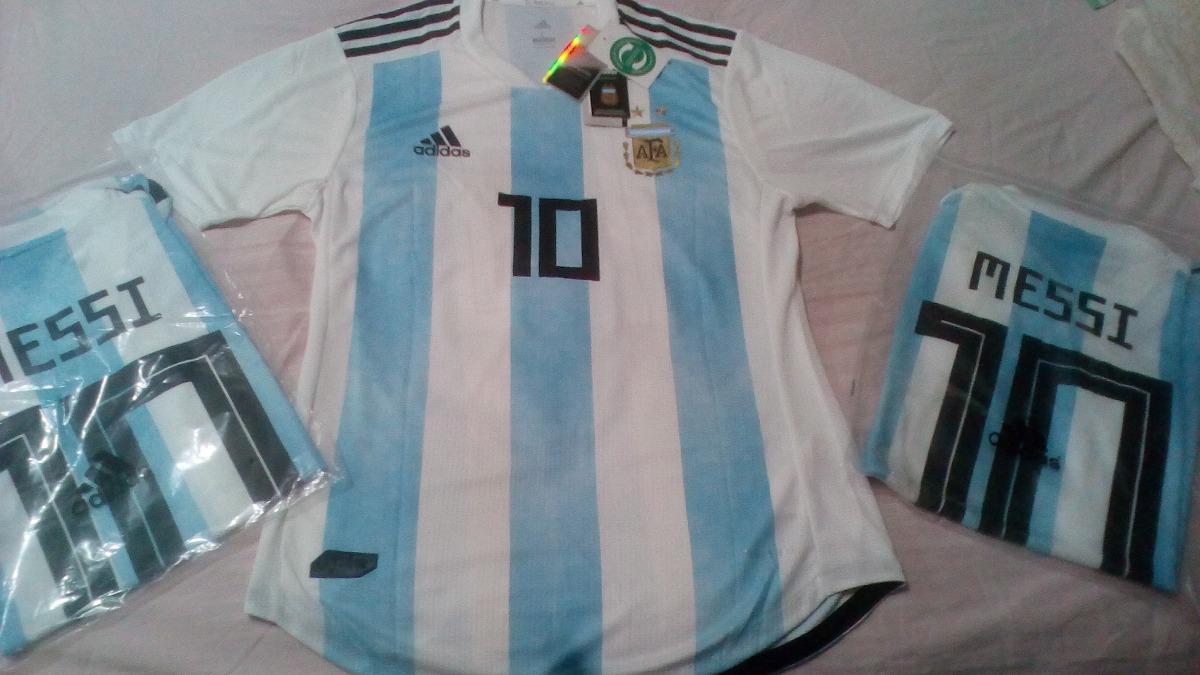 camiseta argentina mundial 2018 adidas climachill 10 messi. Cargando zoom. ed57603faa885