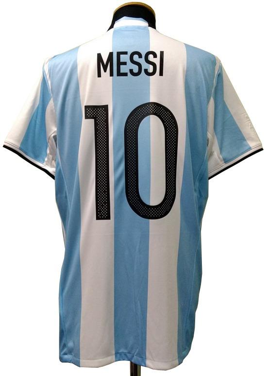 a0d37e3ee8f01 Camiseta Argentina Oficial 2017 Messi 10 Original adidas -   1.799 ...