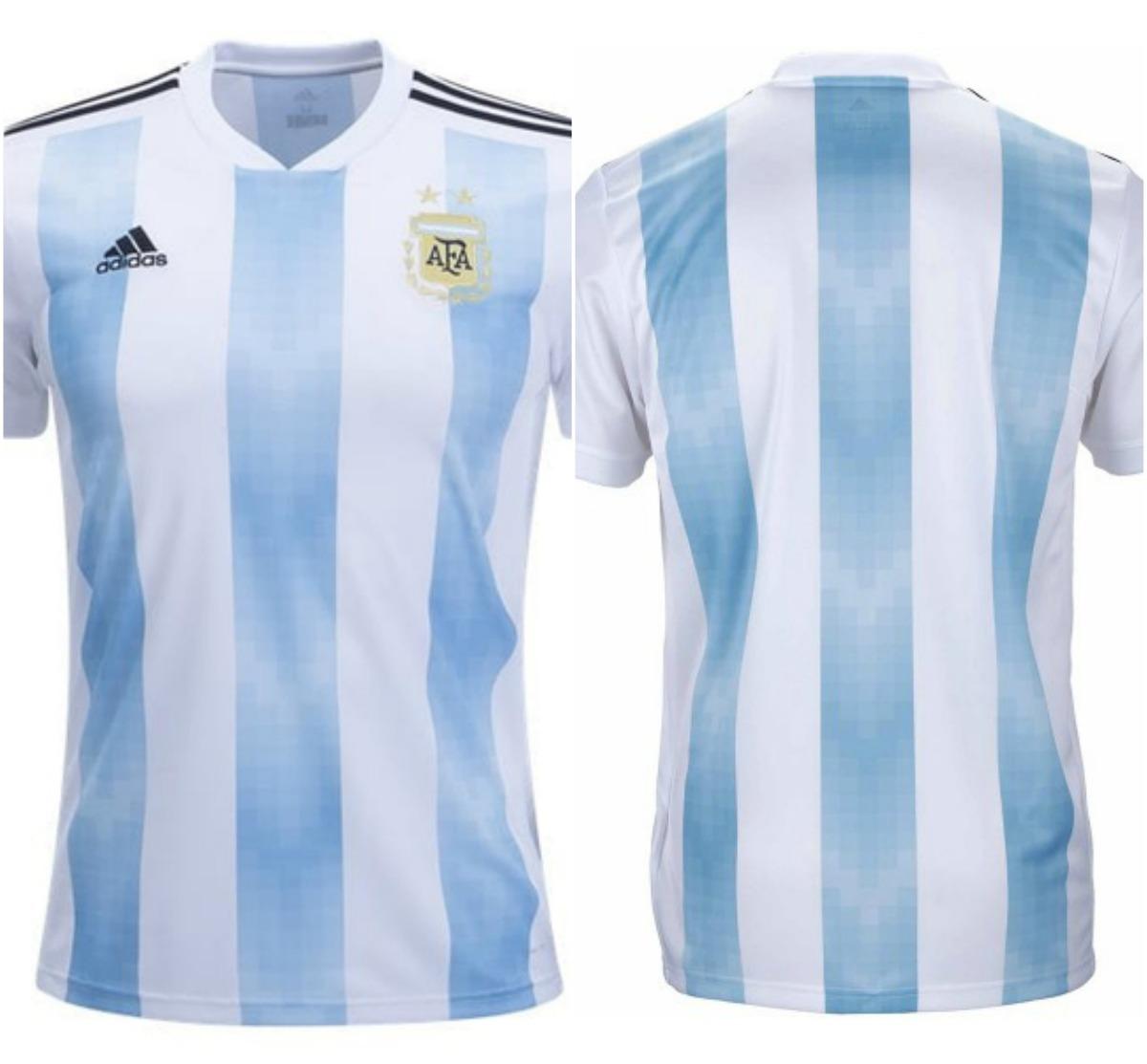 9eba2fc49c camiseta argentina oficial rusia 2018 adidas climalite. Cargando zoom.
