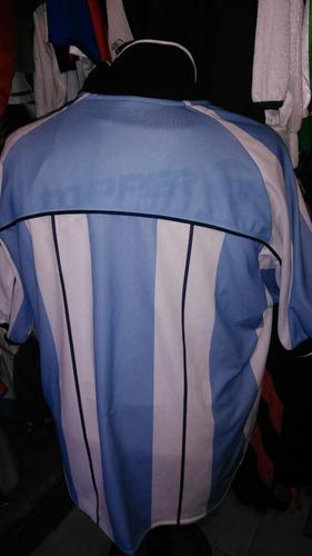 camiseta argentina reebok talle l