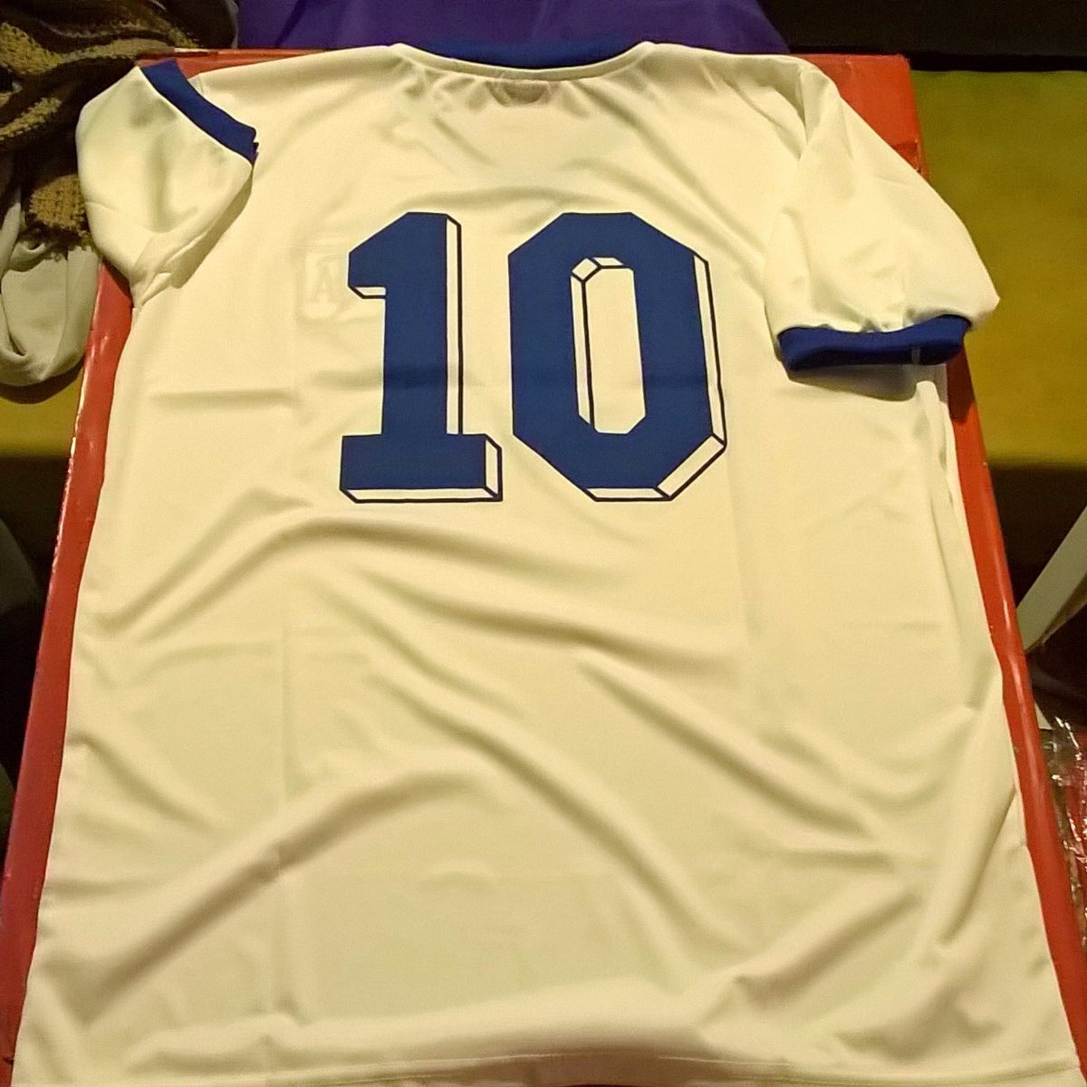 Camiseta Argentina Retro Diego Armando Maradona 10 1982 -   799 3059c2edfbec3