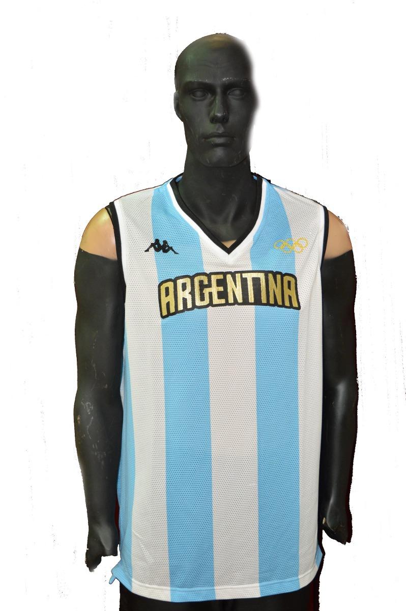 874775ef9cecd Camiseta argentina rio kappa basquet original cargando zoom jpg 798x1200  Camiseta de basquet argentina