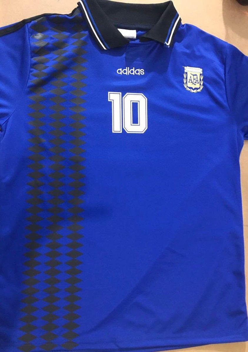 camiseta argentina suplente 94 maradona retro. Cargando zoom. 09dbfebe800dd