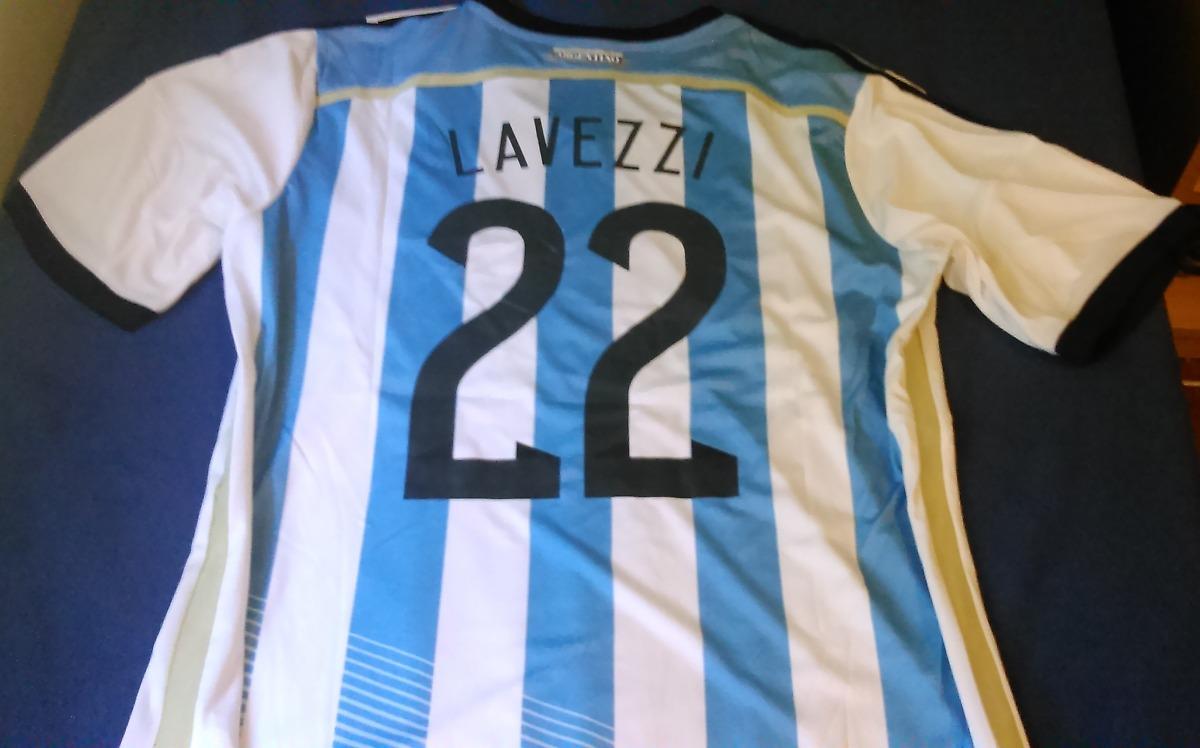 camiseta argentina titular 2014 - estampado   22. Cargando zoom. 7c59a0bd5b037