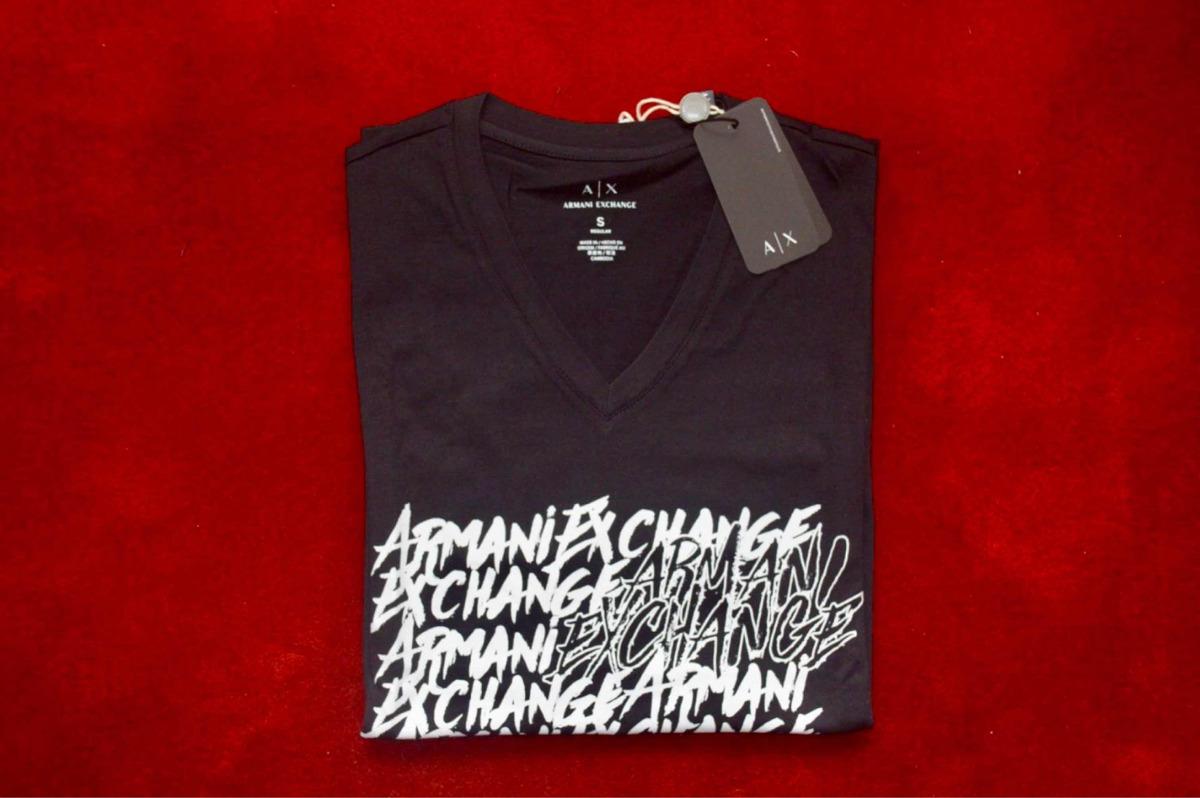 d94ec6c8aed Camiseta Armani Exchange Original -   119.900 en Mercado Libre