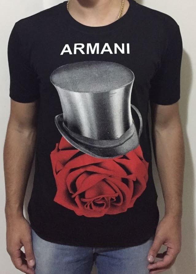 07aaa2f5b37 camiseta armani exchange original lançamento!!! Carregando zoom.