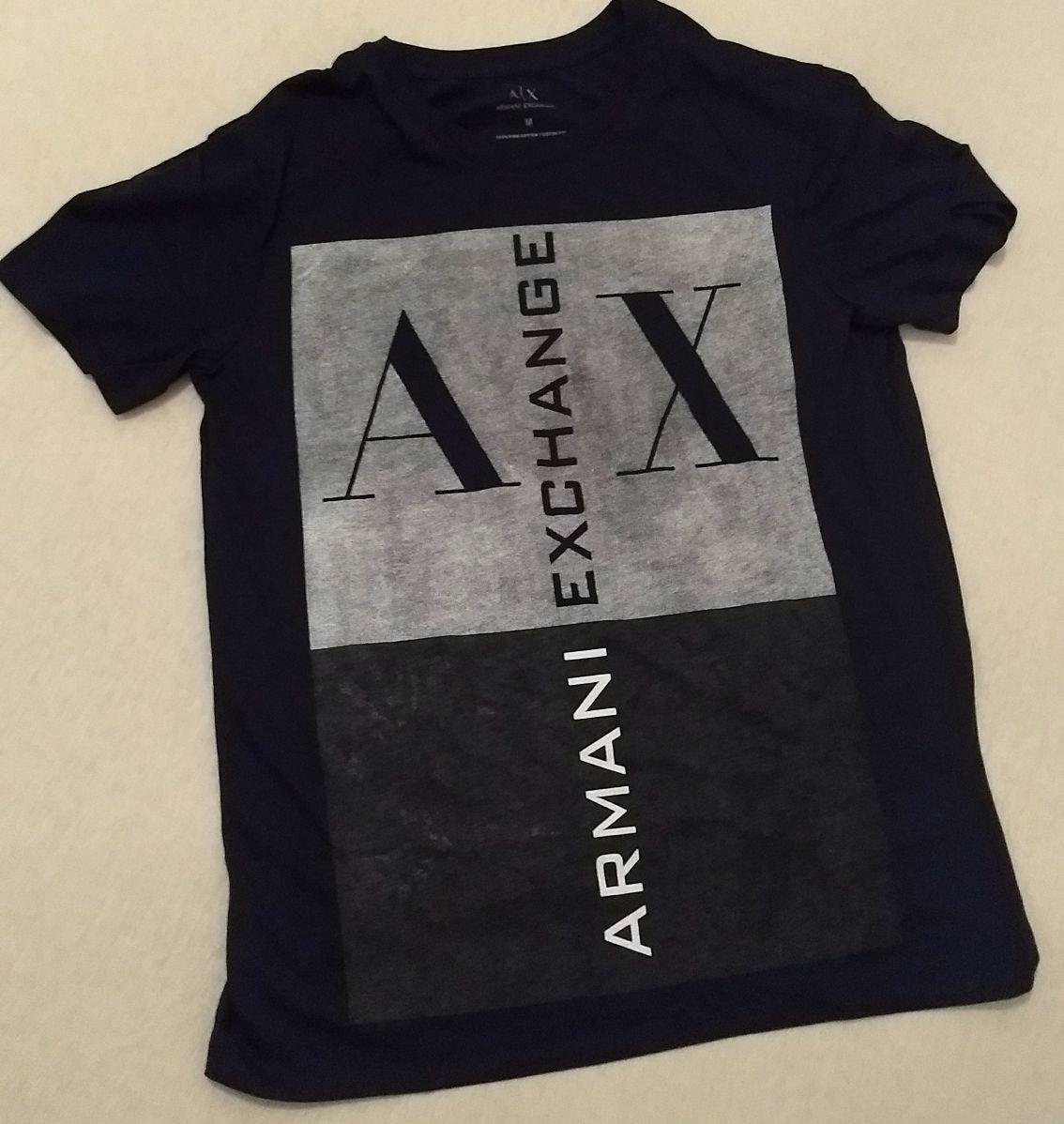 11862b6cf07 camiseta armani exchange pima cotton  1210. Carregando zoom.