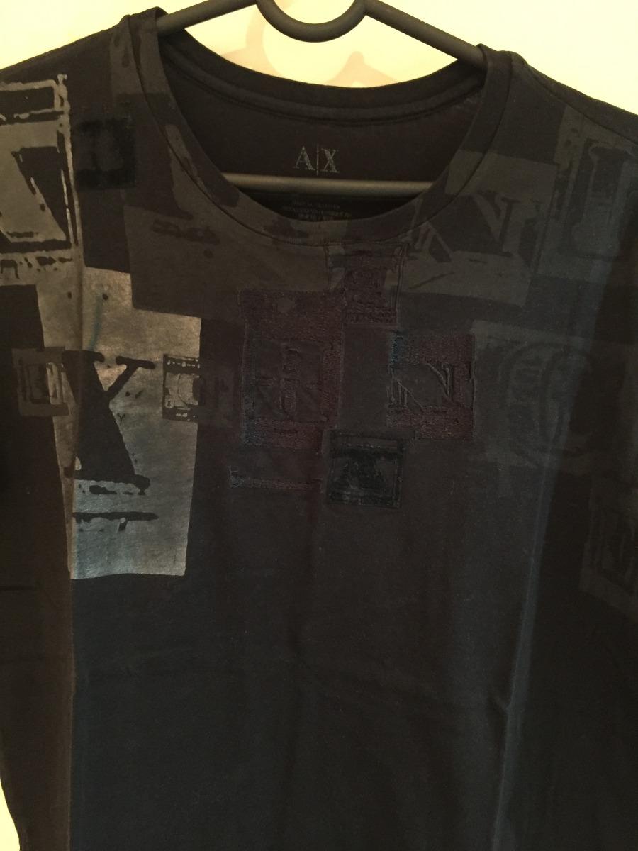 f34b051a081 camiseta armani exchange preta original tamanho m. Carregando zoom.