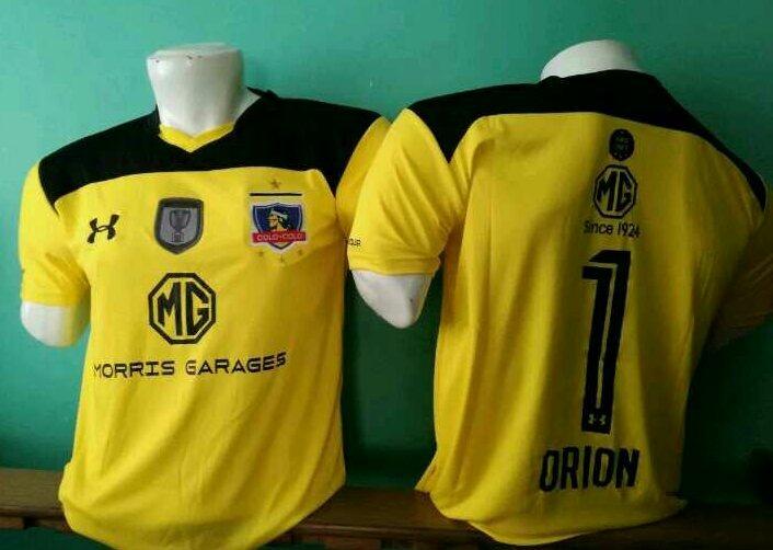 2ee2f45c8 Camiseta Arquero Colo Colo Orion Los 3 Modelos Solo Adultos ...