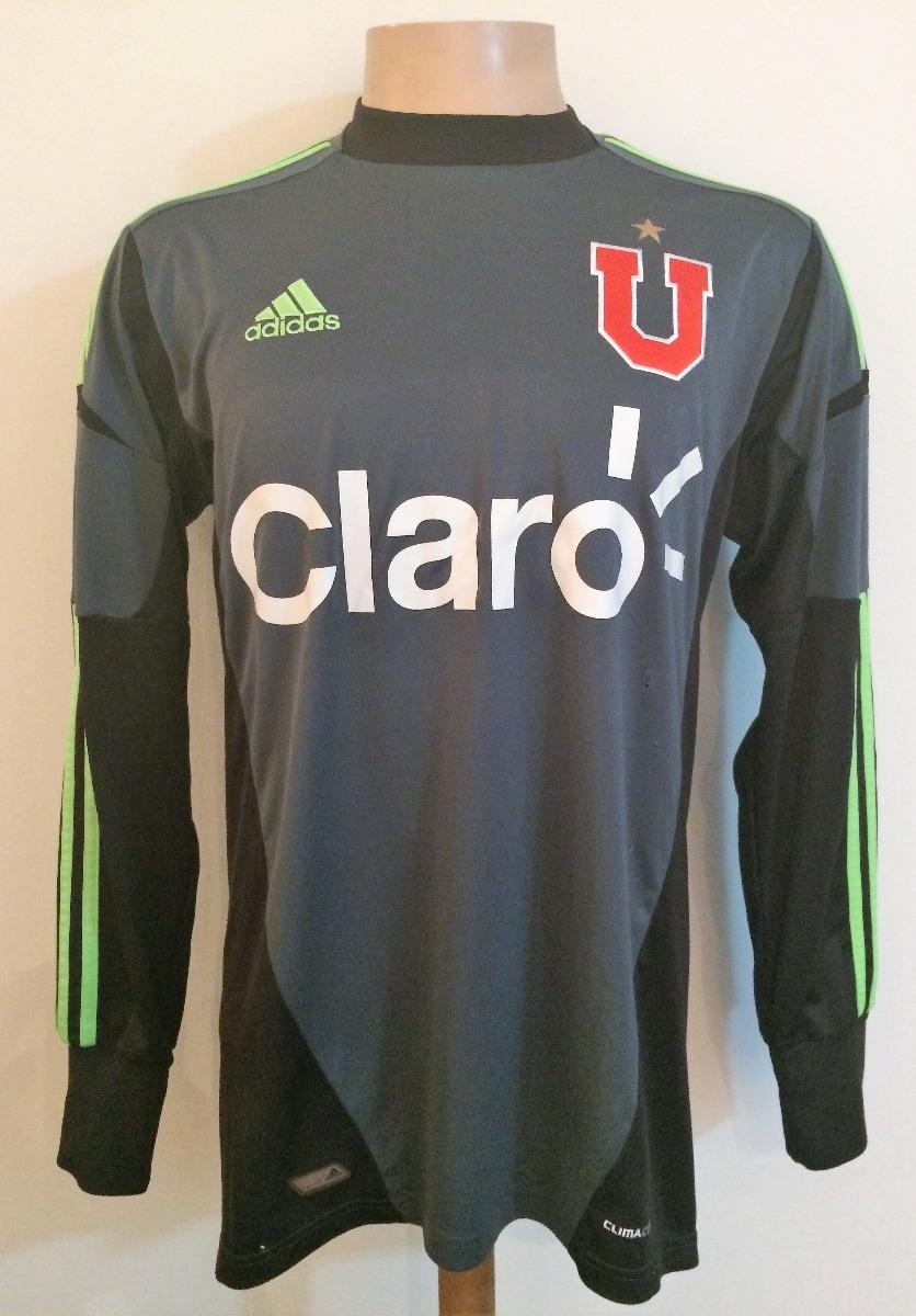 Camiseta Arquero U De Chile 2012 adidas Talla M -   35.000 en ... b9502abf46a21
