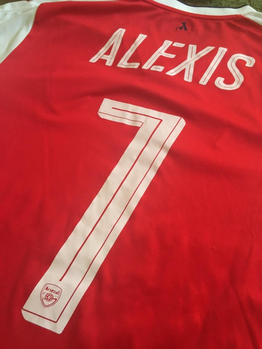 Camiseta Arsenal Alexis Sánchez Original -   15.000 en Mercado Libre 3654e1722d886