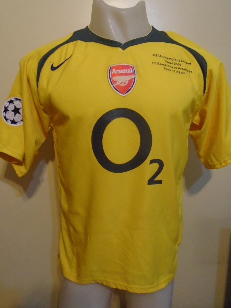 camiseta arsenal barcelona final champions l 2006 henry 14 m. Cargando zoom. 43669888cff1f