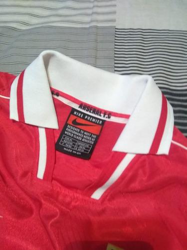 camiseta arsenal inglaterra 1998