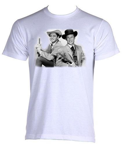 camiseta as aventuras de james west seriado antigo 004
