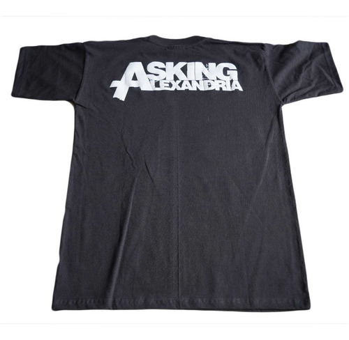 camiseta asking alexandria importada rock activity talla s
