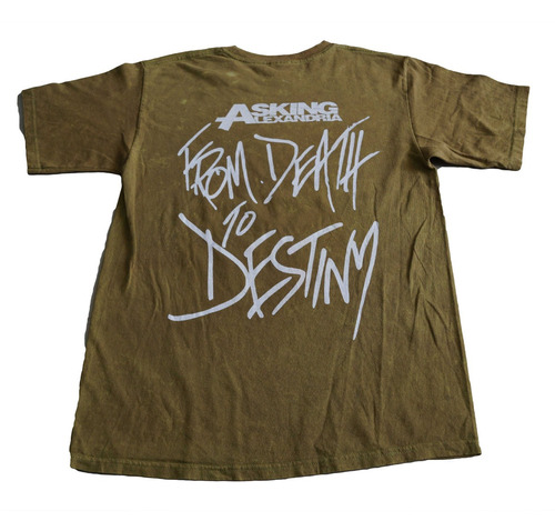 camiseta asking alexandria rock activity importada talla m