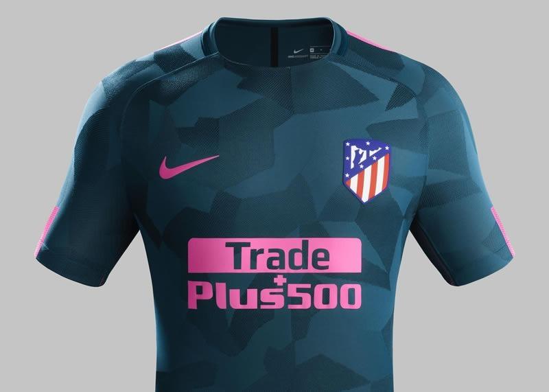camiseta atletico de madrid alternativa 2018 100% original. Cargando zoom. 3b9d1887510