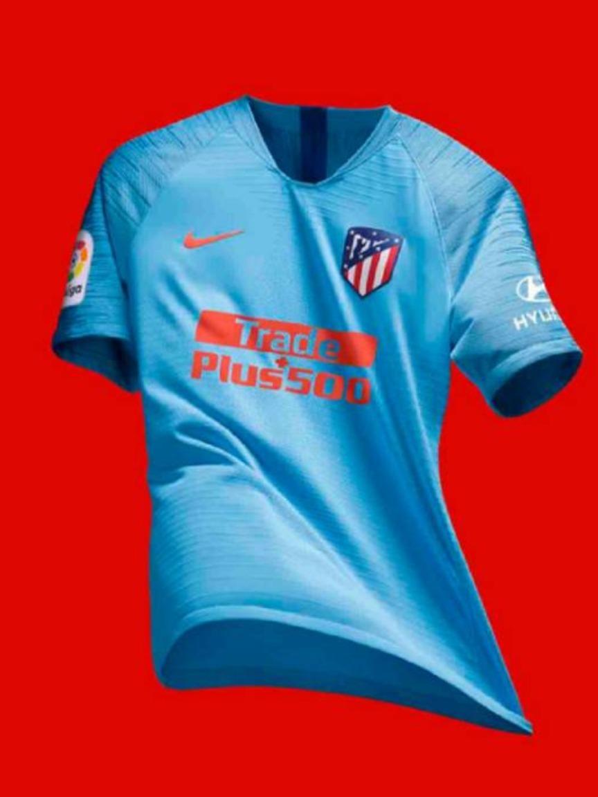 5bcdc83ec6438 camiseta atletico de madrid champions 2018-2019. Cargando zoom.