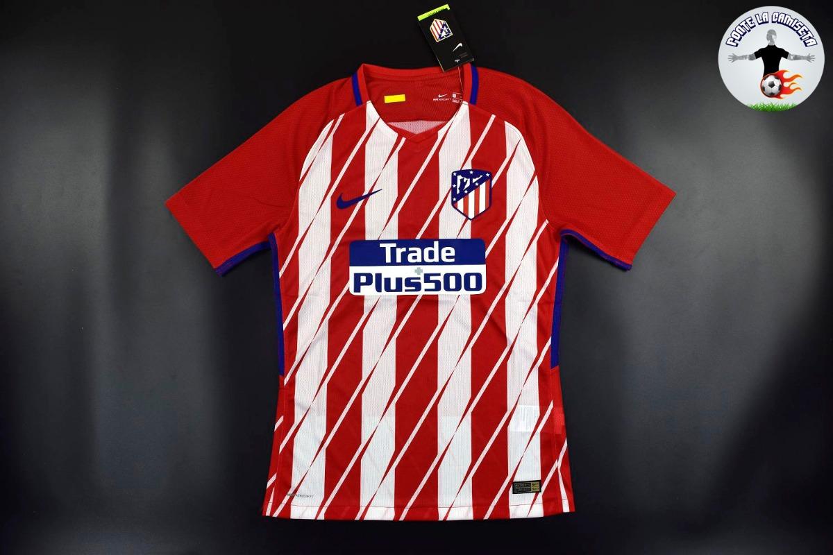 182dabcda camiseta atlético de madrid local 2017 18 - versión jugador. Cargando zoom.