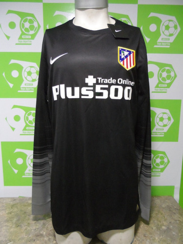 camiseta atlético madrid arquero 2015-2016 negro nueva nike