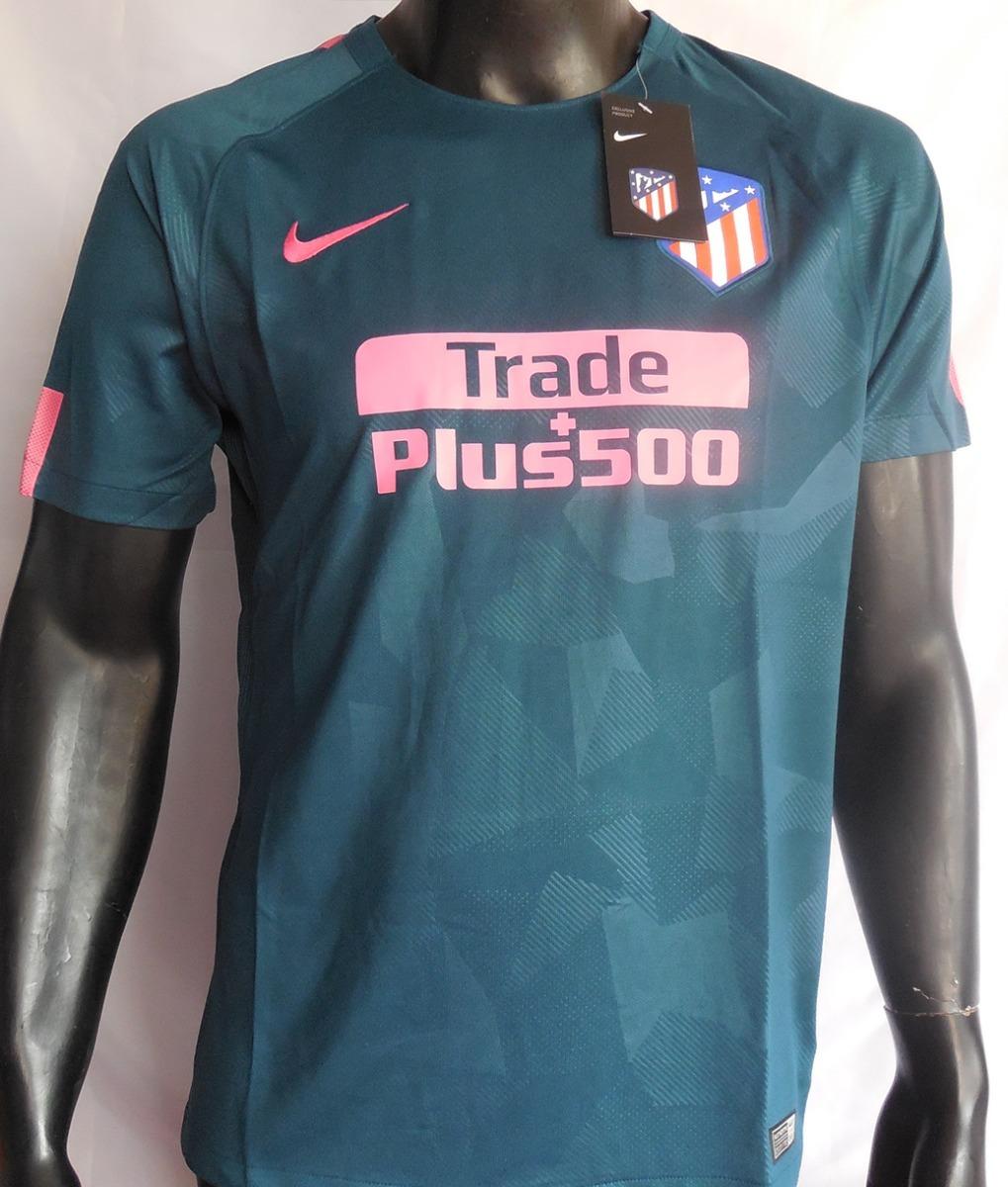 12443b56b558c Camiseta Atletico Madrid Third 17/18 Nike - S/ 70,00 en Mercado Libre