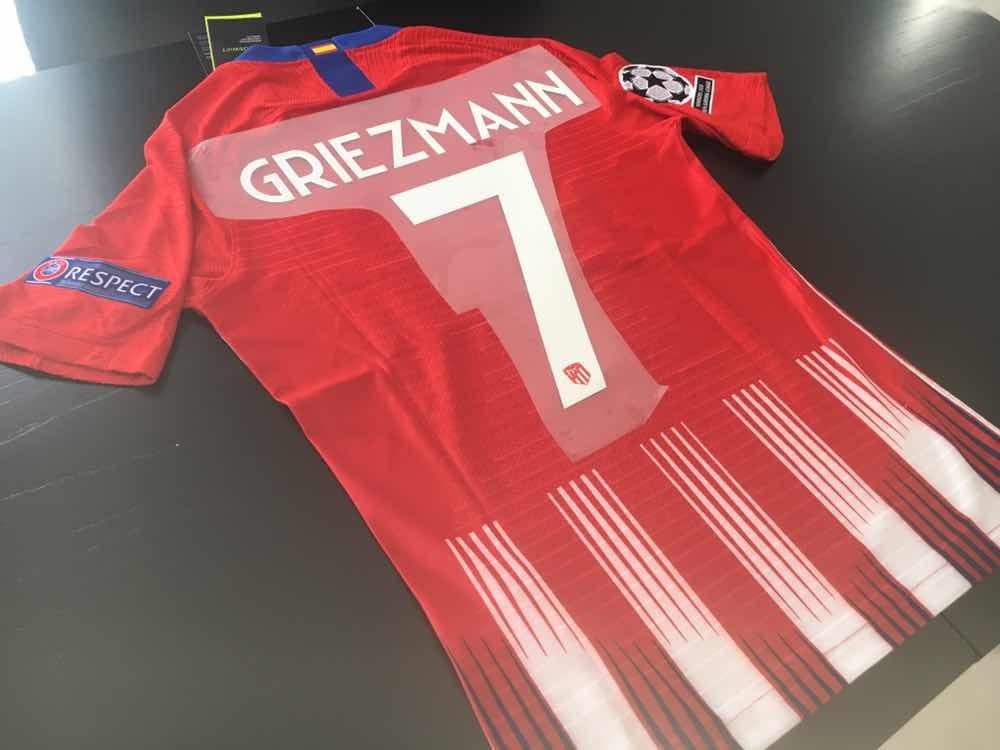 camiseta atlético madrid titular 2018 19 match griezmann. Cargando zoom. 911fd9ff19230