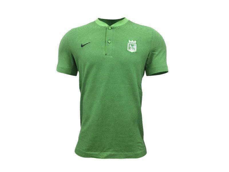 f5759b6ebb10a Camiseta Tipo Polo Atlético Nacional 2018 Nike   Nación Fútb ...