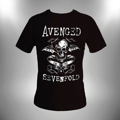 camiseta avenged sevenfold masculina