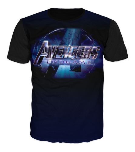 camiseta avengers end game marvel vengadores algodón