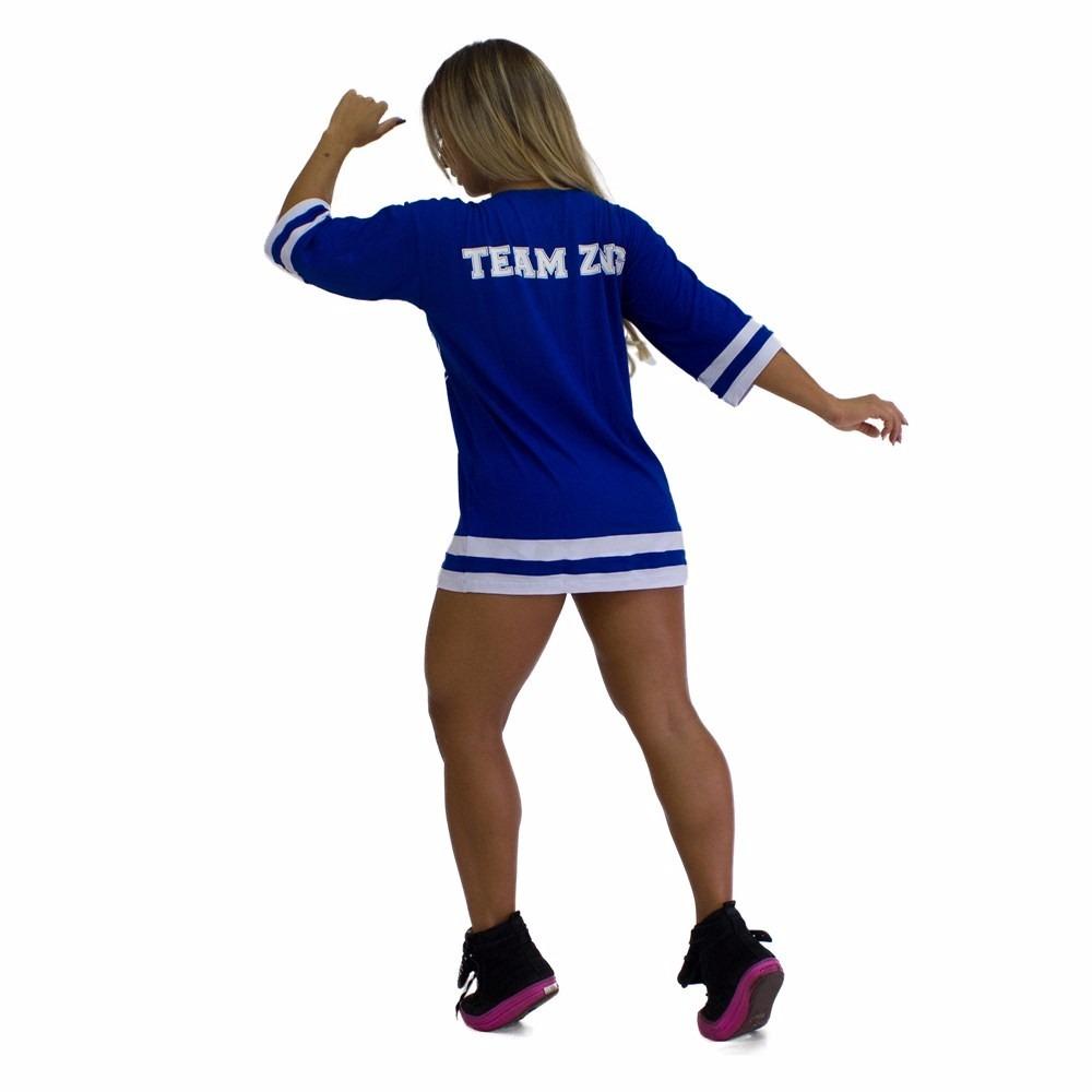 camiseta azul futebol americano team zng vestido academia. Carregando zoom. 16b4a3b4e3a16