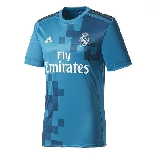 Camiseta Azul Real Madrid Modelo 2017   2018 + Frete Grátis - R  139 ... 1207e33683e3b