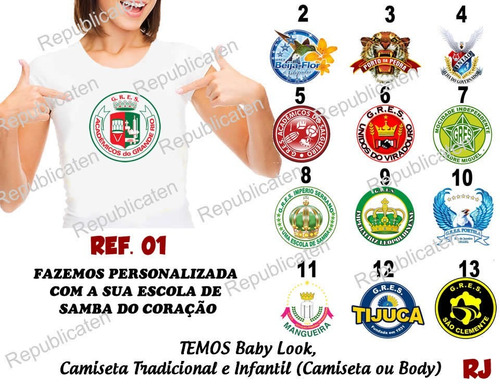 camiseta baby look carnaval samba - x9 paulistana - vai vai