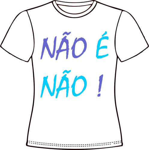 camiseta, baby look, cropped, regata ou almofada