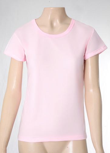 camiseta baby look feminina lisa 100% poliester sublimação