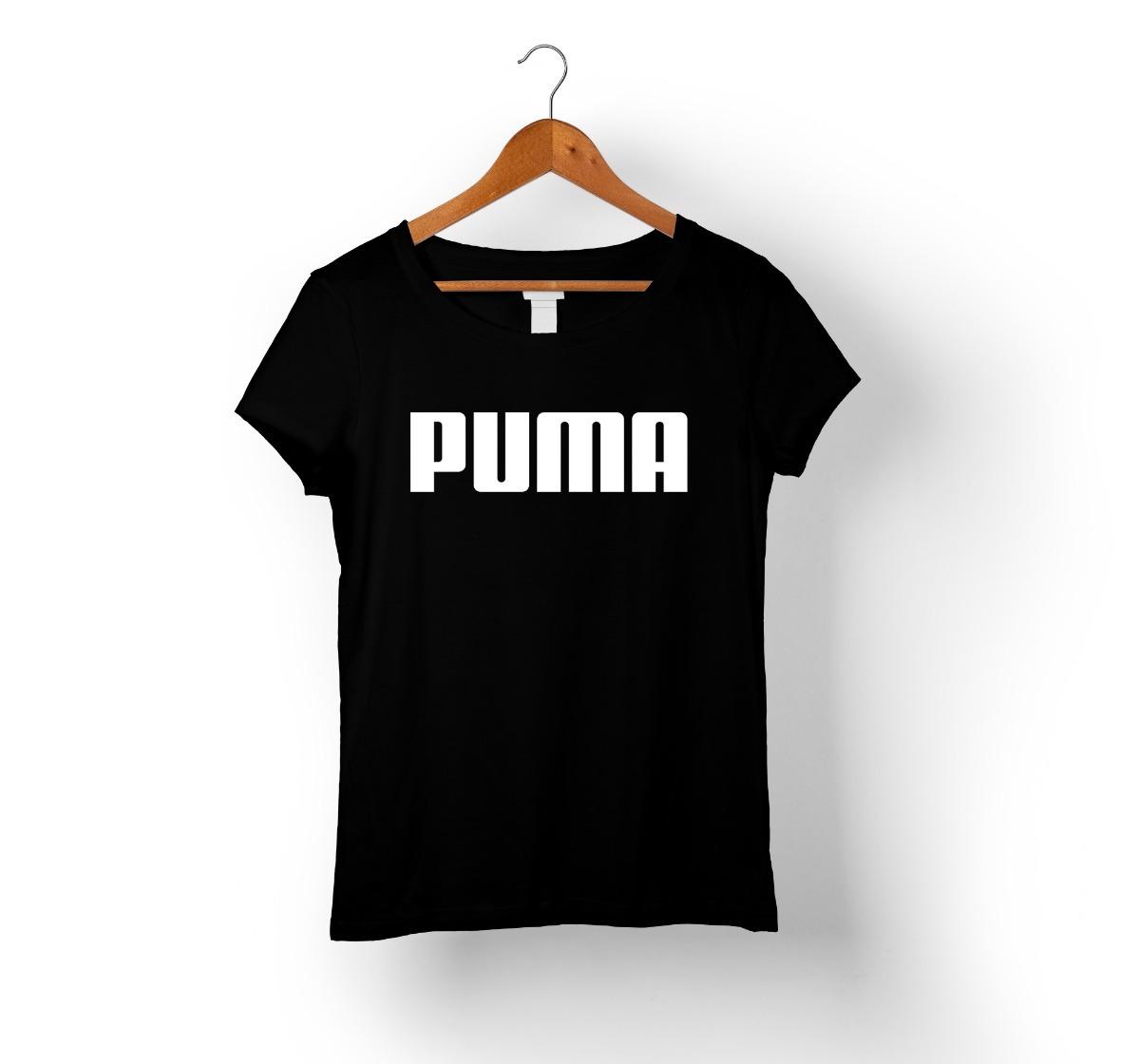 Camiseta Baby Look Feminina - Puma - R  30 df9cde5cbef4b