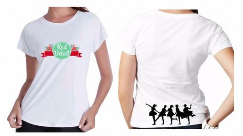 c4da4c0e39264d Camiseta Baby Look Red Velvet Grupo Kpop K-pop Musica Linda6 - R  35 ...