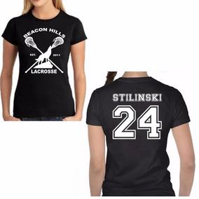 bac3c06513 Teen Wolf Camiseta Feminina - Camisetas Manga Curta no Mercado Livre ...