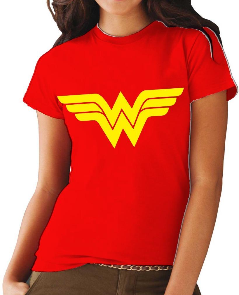 e38ec197f camiseta baby look vermelha mulher maravilha personalizada. Carregando zoom.